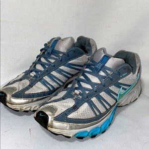 Nike Zoom Air Trail Running Shoes Turquoise Gray
